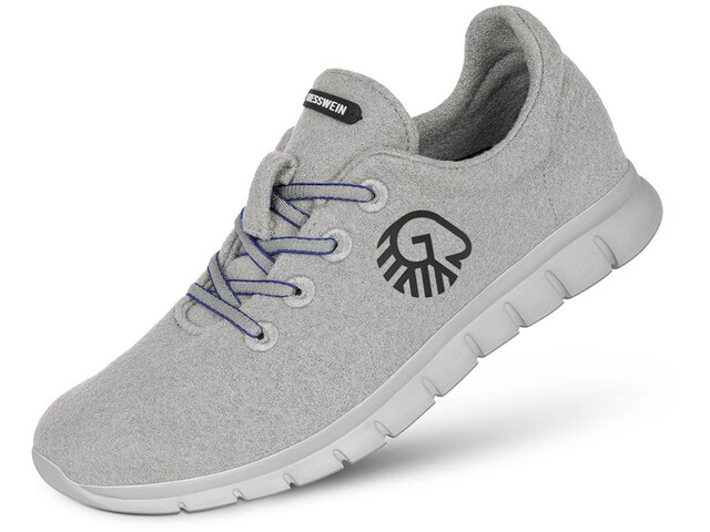 Giesswein Merino Runners Halbschuhe Herren light grey